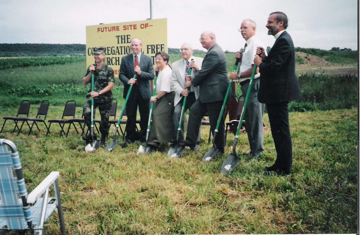 Groundbreaking Ceremony.